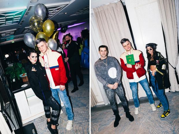 Фото №4 - Катя Адушкина, Volodya XXL и Карина Karrambaby на дне рождения своего продюсера Кирилла Диденок