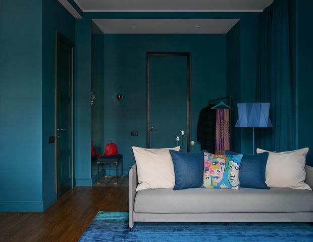 Фото №5 - Синяя квартира 53 м² в Екатеринбурге