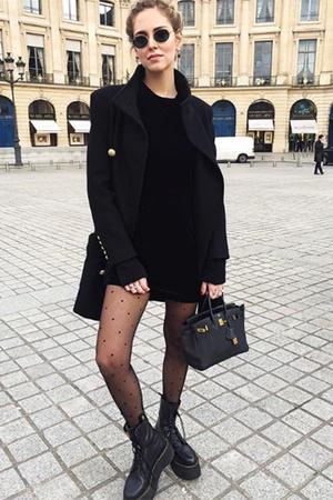 Фото №7 - Беременная Кьяра Ферраньи в секси-образах: 5 луков на Неделе моды
