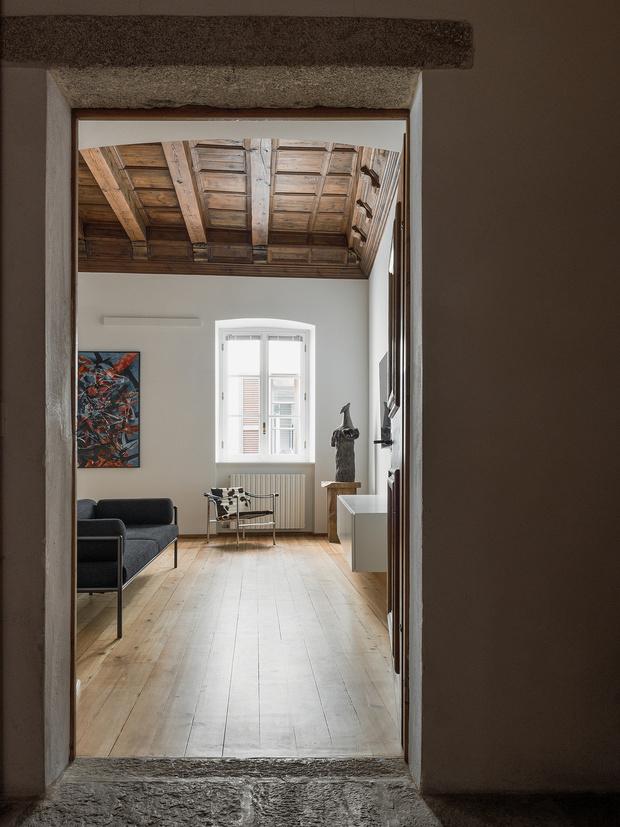 Фото №4 - Квартира в здании XVII века в Сондрио