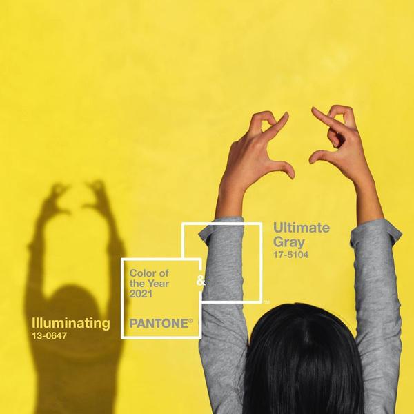Фото №1 - Институт цвета Pantone объявил два главных цвета 2021 года
