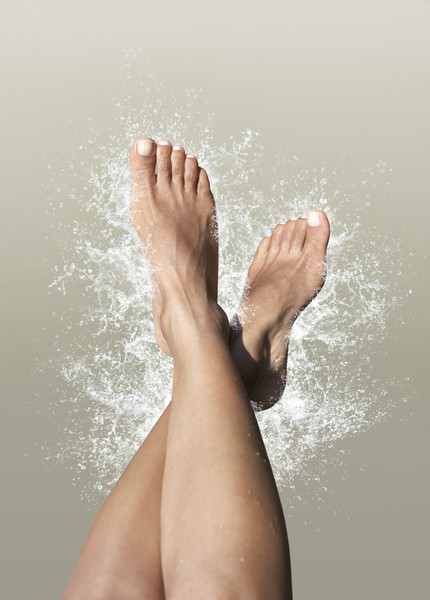 трещина на ногте ноги
