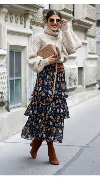 Фото №3 - Антитренд: как НЕ нужно носить юбки зимой ❌