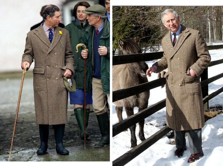Фото №1 - Самый экономный принц: почему Чарльз никогда не выбрасывает свою одежду