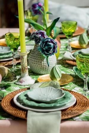 Фото №4 - Украшаем стол к Пасхе: идеи декора от Анны Муравиной