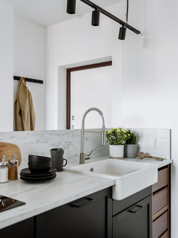 Фото №7 - Интерьер месяца: уютная квартира 35,7 м² в скандинавском стиле