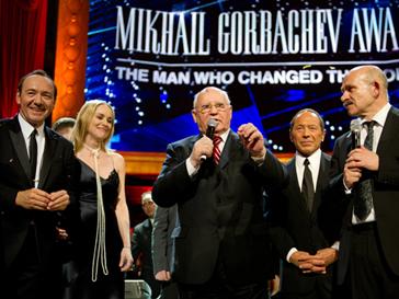 Михаил Горбачев сказал, что он счастливый человек