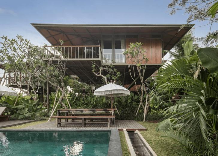 Фото №1 - Гостевой дом в джунглях Бали