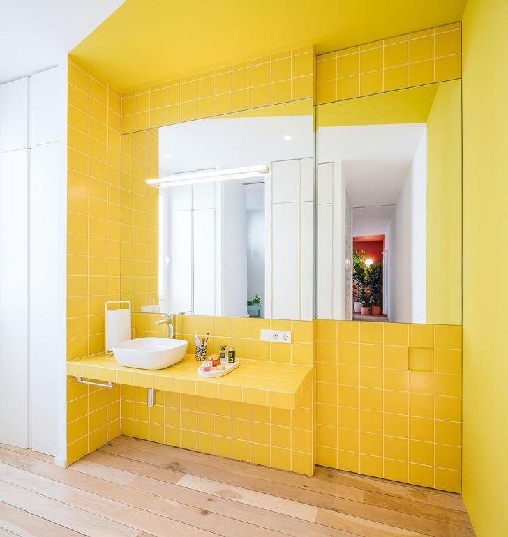 Фото №9 - Яркая квартира в Мадриде