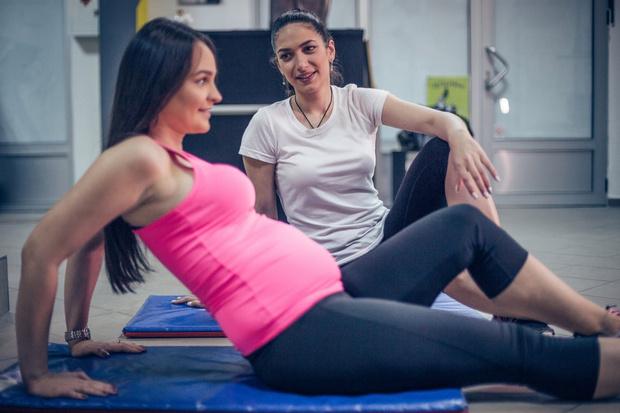 позиционная гимнастика для беременных