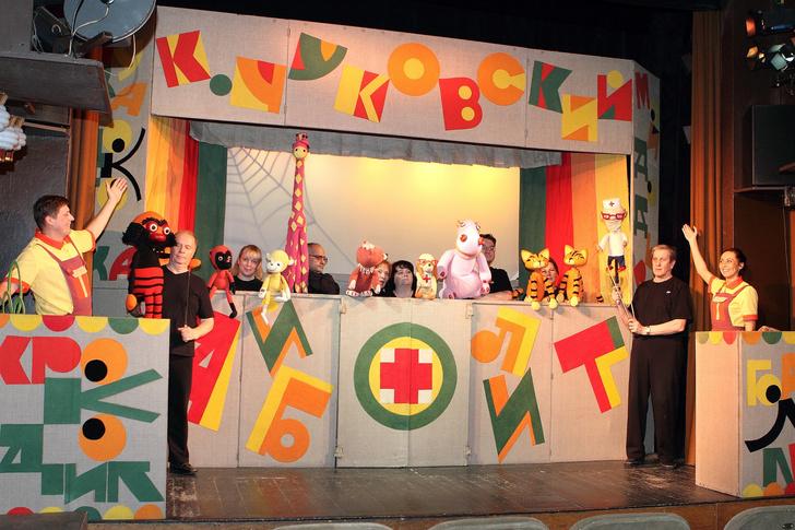 Фото №3 - Спектакль «Айболит» в Московском детском театре Теней