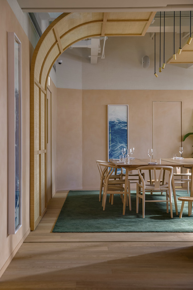 Фото №3 - Ресторан Whey в Гонконге по проекту Snøhetta