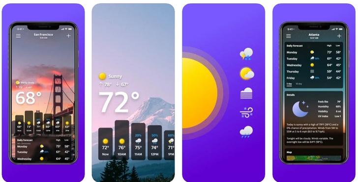 Фото №3 - Что надеть сегодня: 5 приложений, которые не обманут с прогнозом погоды ☀