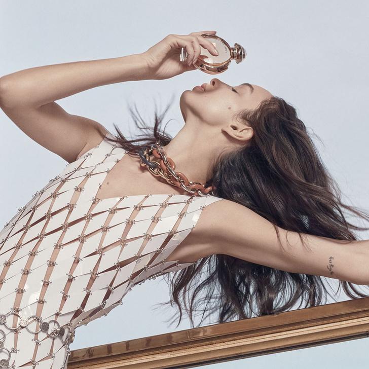 Фото №5 - Имбирные шоты и правильное питание: секреты красоты супермодели Лумы Гроте
