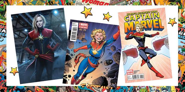 Фото №1 - Как бы выглядел мейк супергероинь и суперзлодеек в реальной жизни
