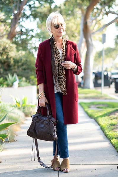 Мода для пожилых женщин: советы и фото — www.wday.ru