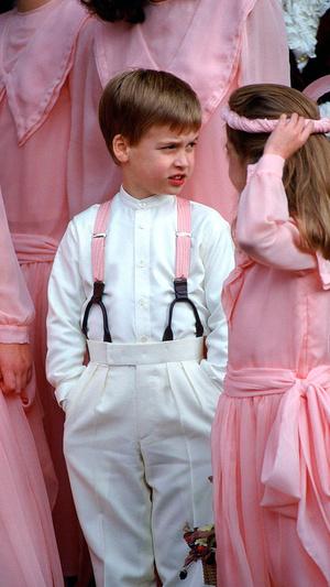 Фото №13 - Самые важные гости: маленькие Виндзоры на королевских свадьбах