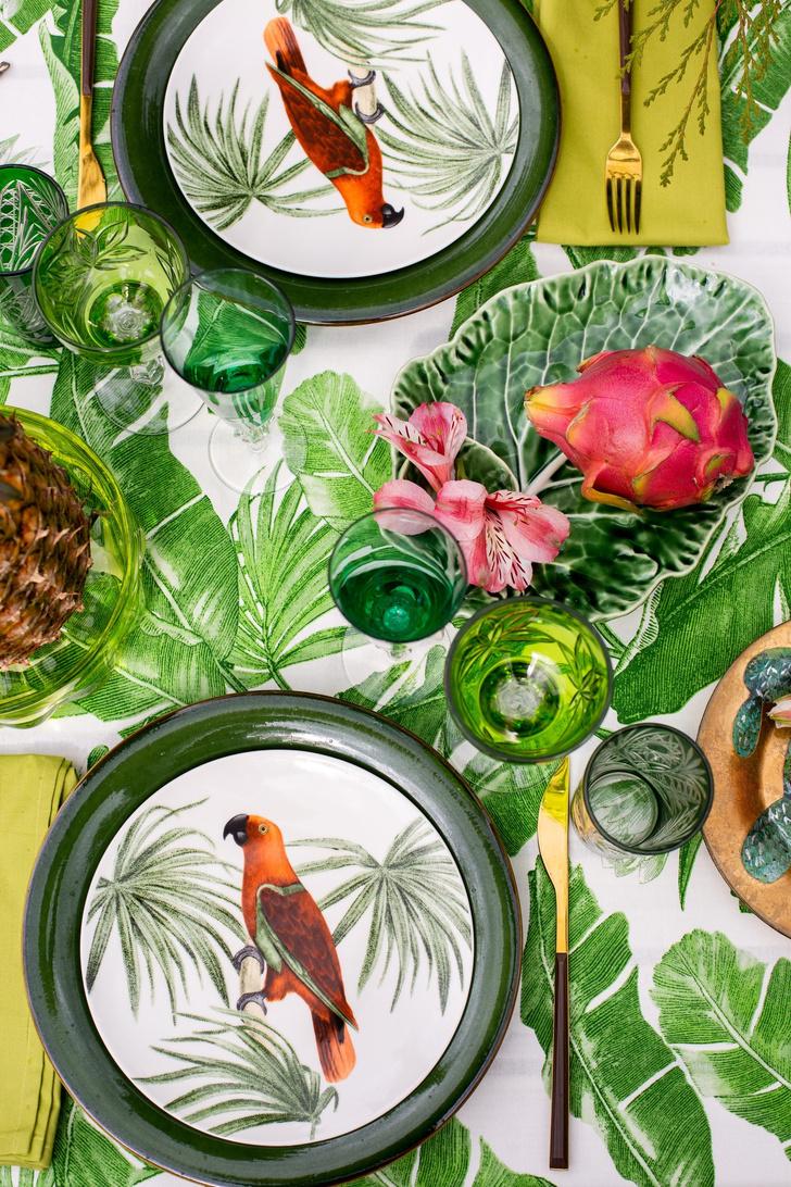 Фото №1 - Яркие идеи для летней сервировки