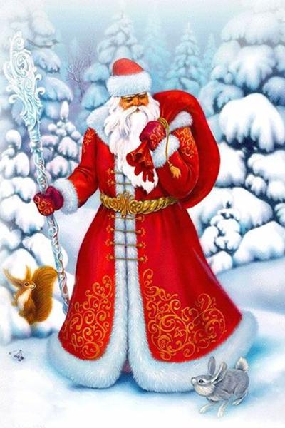 Фото №1 - Деды Морозы: гавайский ходит в плавках, а в Италии это женщина