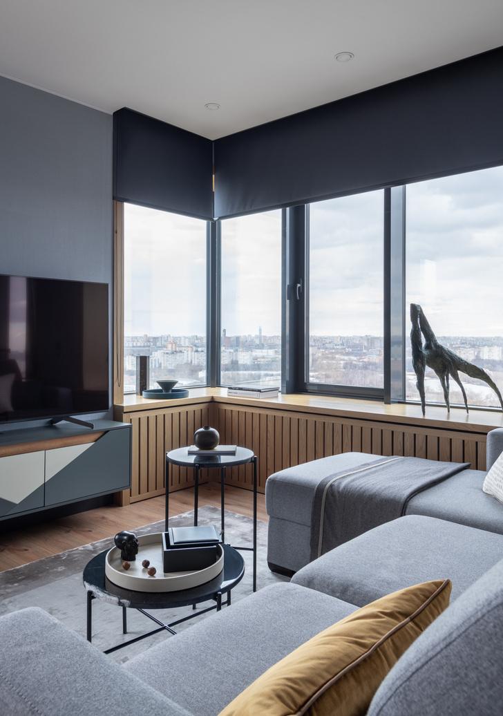Фото №5 - Современная квартира 82 м² для творческой пары в Москве