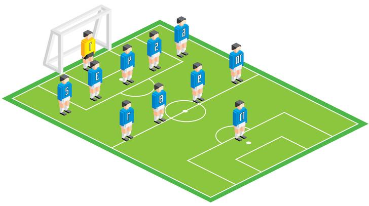 Фото №8 - Болей как Бекхэм! Памятка футбольным любителям для Евро-2020