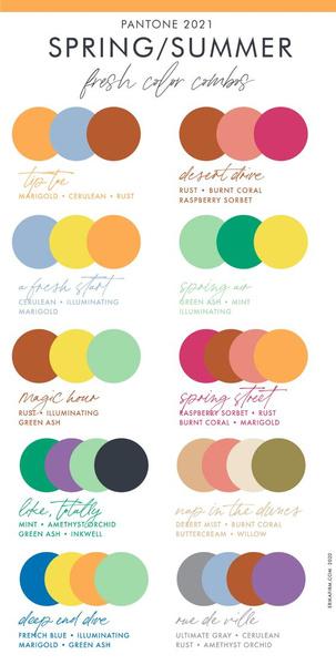 Фото №2 - Модная шпаргалка: как сочетать цвета в одежде