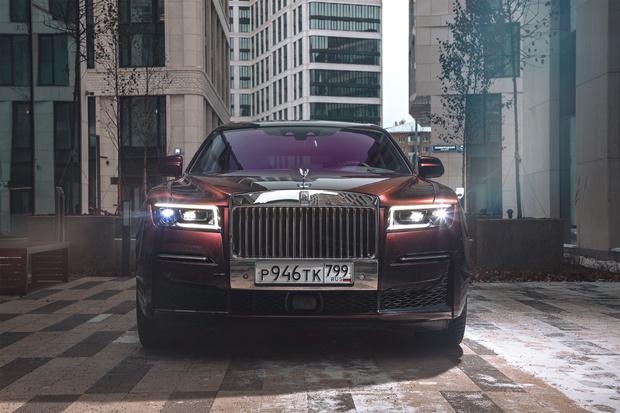 Фото №4 - Rolls-Royce Ghost: пространство, антивирус, 3D-технологии и… шампанское!