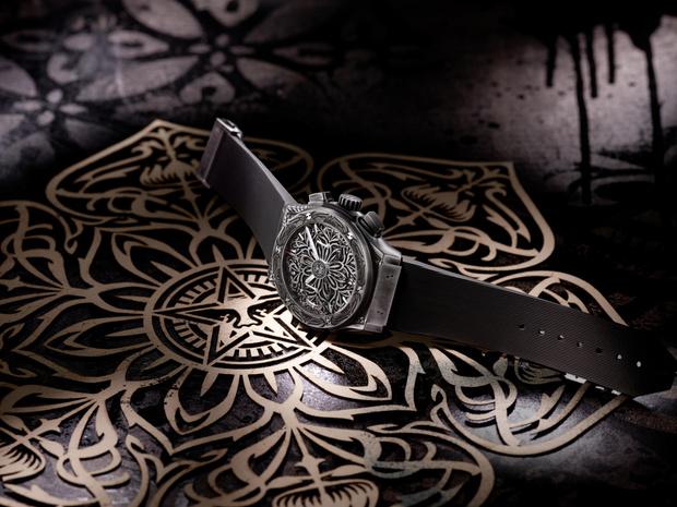 Фото №4 - Символ гармонии: Hublot и Шепард Фейри представили новые стильные часы
