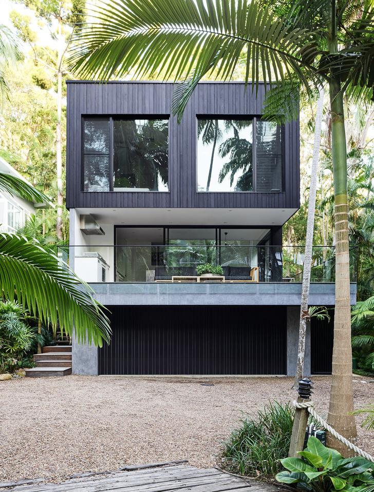 Фото №1 - Утопающий в зелени дом в Австралии