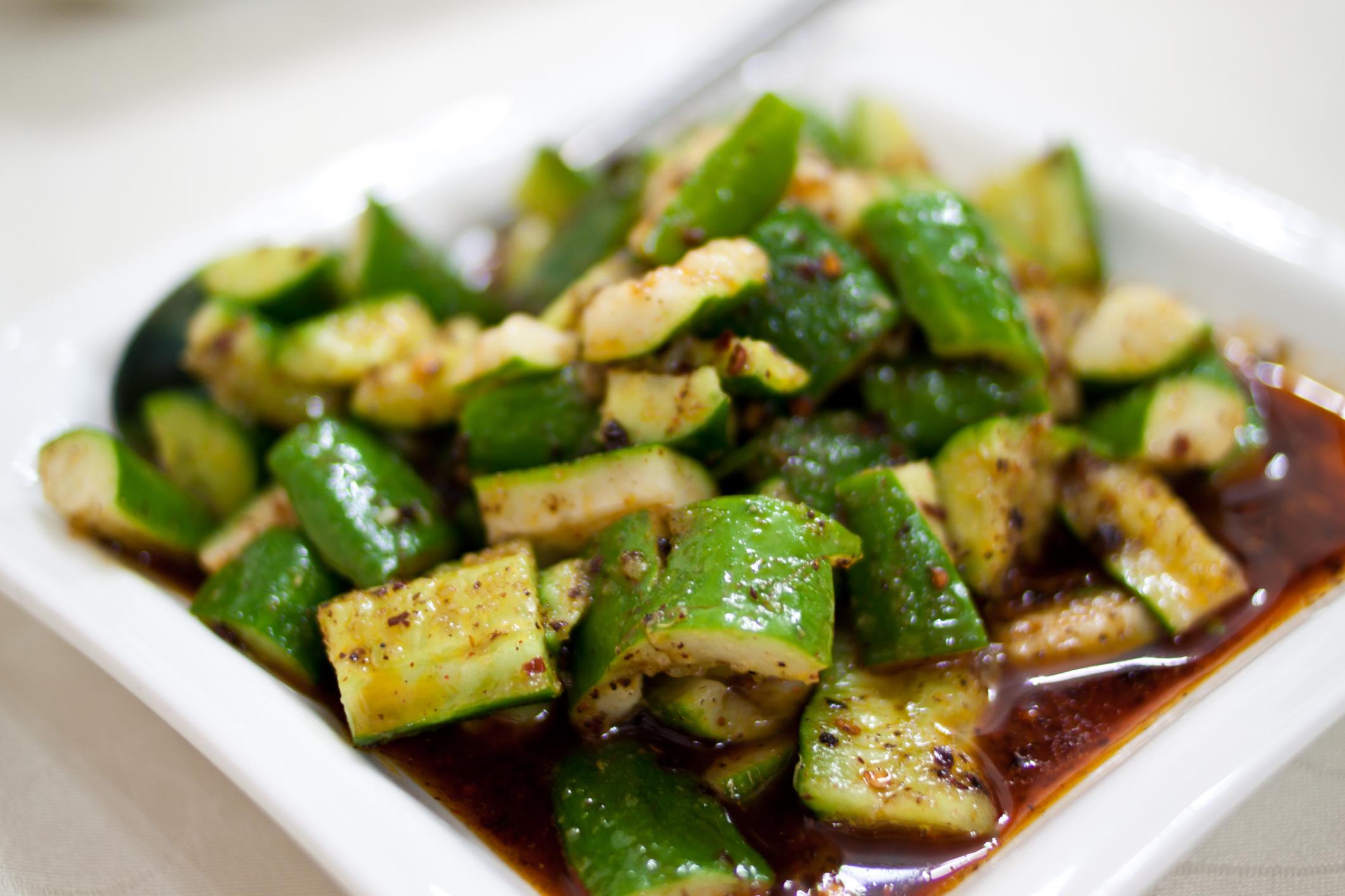 Битые огурцы по-китайски: рецепты - Рецепты