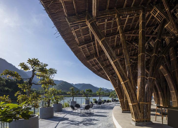 Фото №2 - Ресторан из бамбука во Вьетнаме