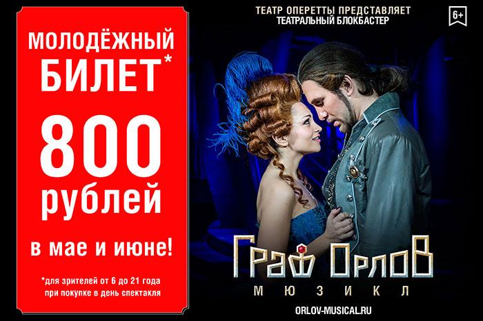 Фото №1 - Мюзикл «Граф Орлов». Викторина