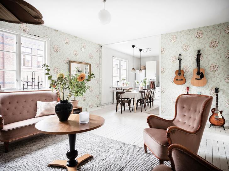 Фото №4 - Уютная квартира с мансардой в Швеции