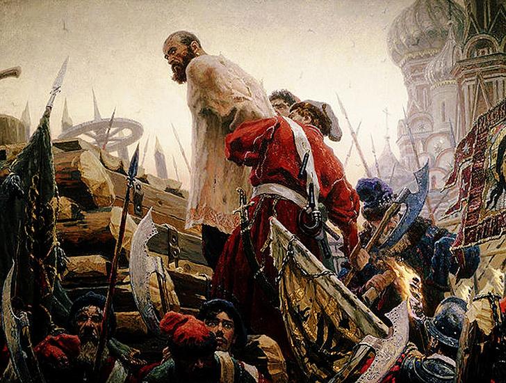 Фото №1 - Годовые кольца: в 1671 году был казнен Стенька Разин