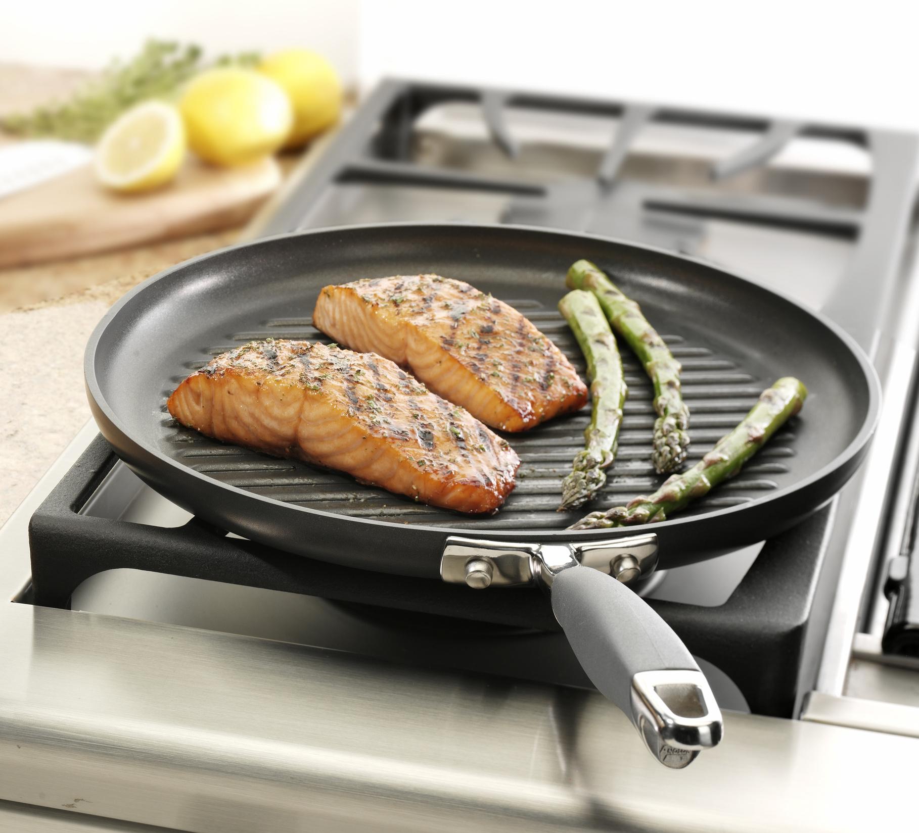 рыба на сковороде гриль рецепты с фото частный дом