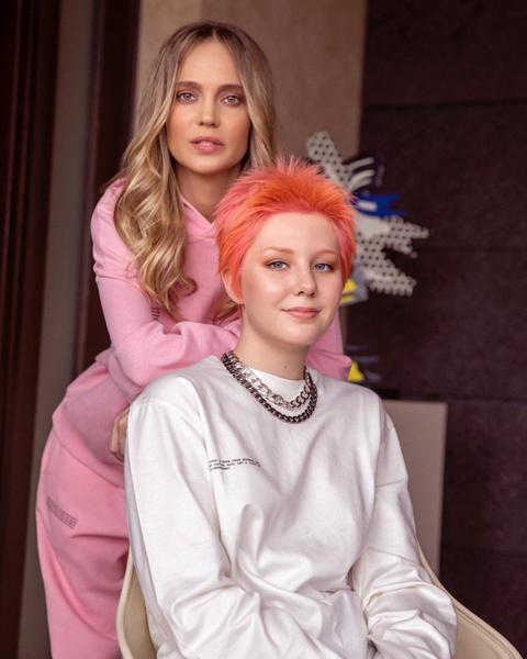Наталья Ионова с дочерью