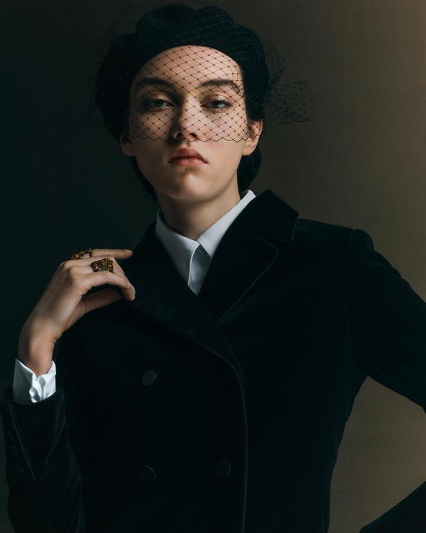 Фото №1 - Самые красивые бьюти-образы Dior Haute Couture SS21