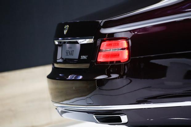 Фото №3 - Российский Maybach по цене настоящего Maybach! В Елабуге стартовало (наконец-то) производство автомобилей Aurus