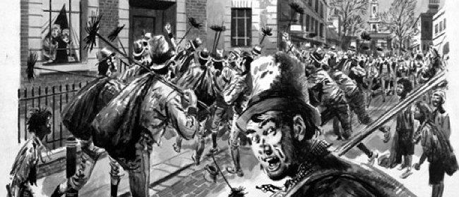 Фото №2 - Пари, которое парализовало Лондон и стало причиной первой пробки в истории городов