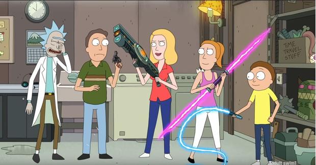 Фото №1 - Вышел второй трейлер пятого сезона «Рика и Морти», еще круче первого