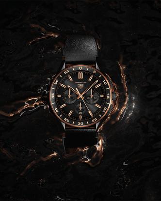 Фото №3 - Роскошь золота: как выглядят новые смарт-часы TAG Heuer Connected
