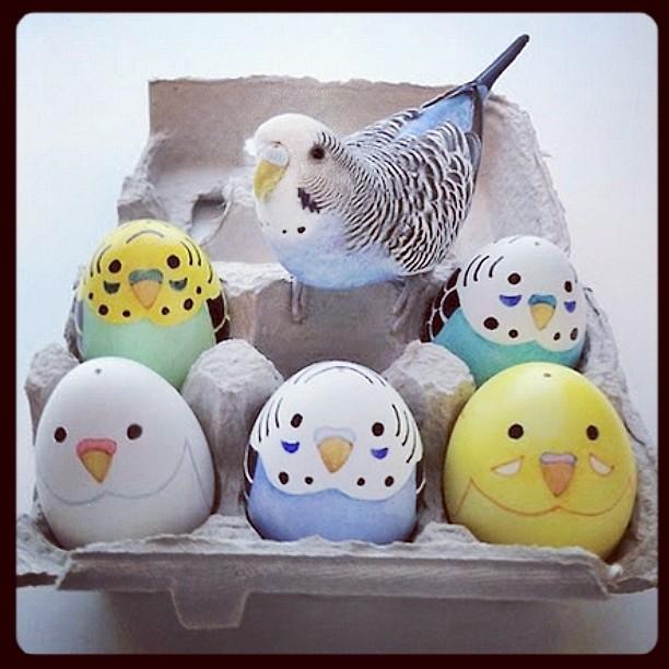 Фото №5 - Как расписать яйца на Пасху: советует Instagram