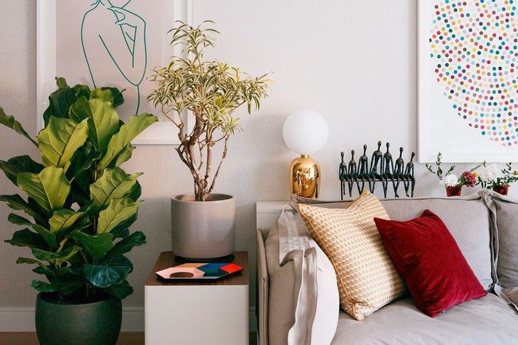 Фото №15 - Элегантная квартира с яркими акцентами в Лондоне