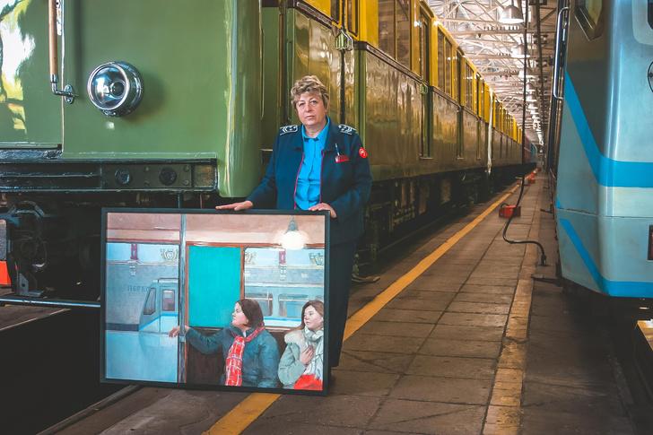 Фото №7 - Выставка «Обратная сторона метро» в Музее Москвы