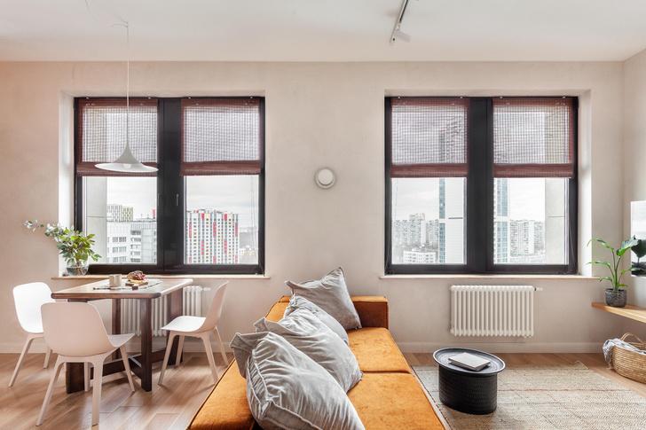 Фото №4 - Квартира в скандинавском стиле с печью