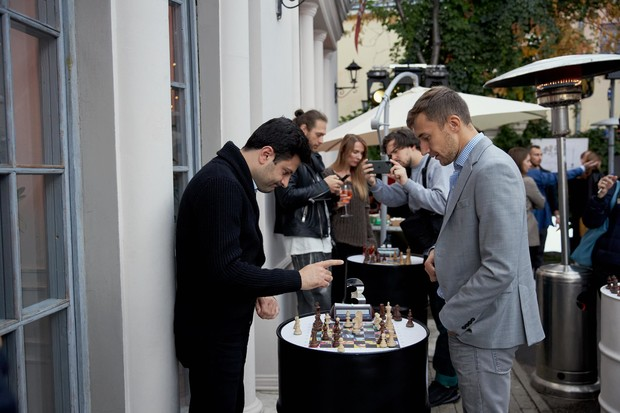 Фото №1 - В Москве прошел бранч фестиваля Chess & Jazz