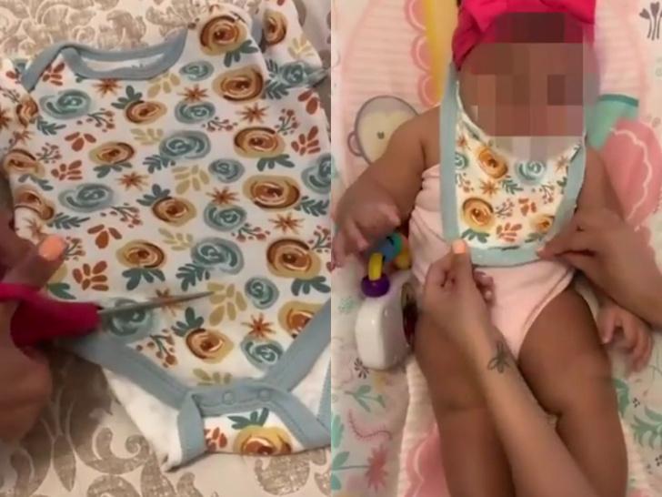 детская одежда, одежда для младенцев, одежда для новорожденных, что делать с одеждой для новорожденных, боди, детские боди, лайфхак для мам, лайфхак для родителей, новая жизнь старых вещей