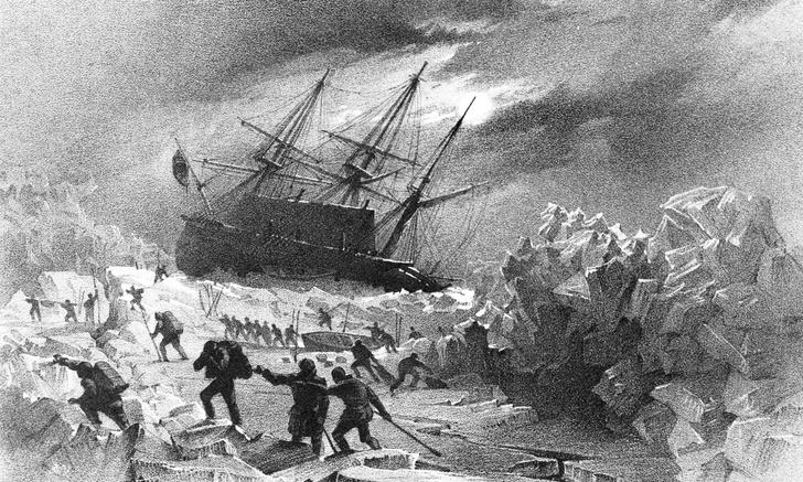 корабль «Террор», история, что стало с экипажом