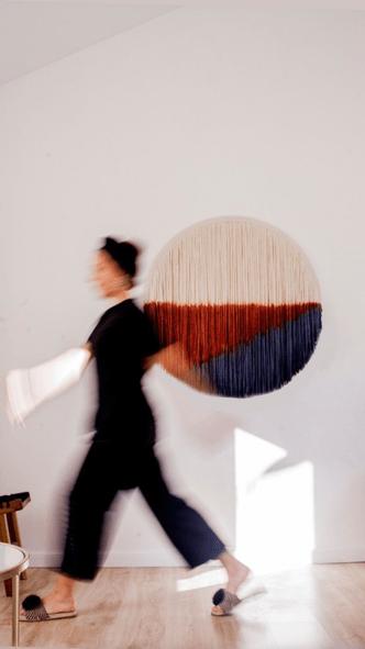 Фото №7 - Новые имена: текстильные панно Дарьи Горн