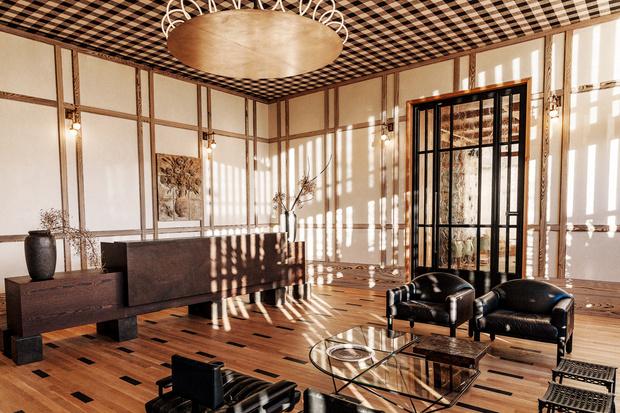 Фото №2 - Отель Austin Proper Hotel по дизайну Келли Уэстлер